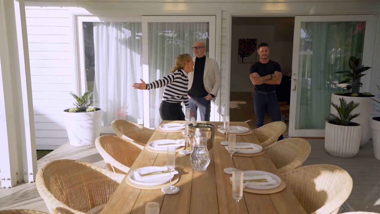 Kirsty and Jesse's Backyard revealed