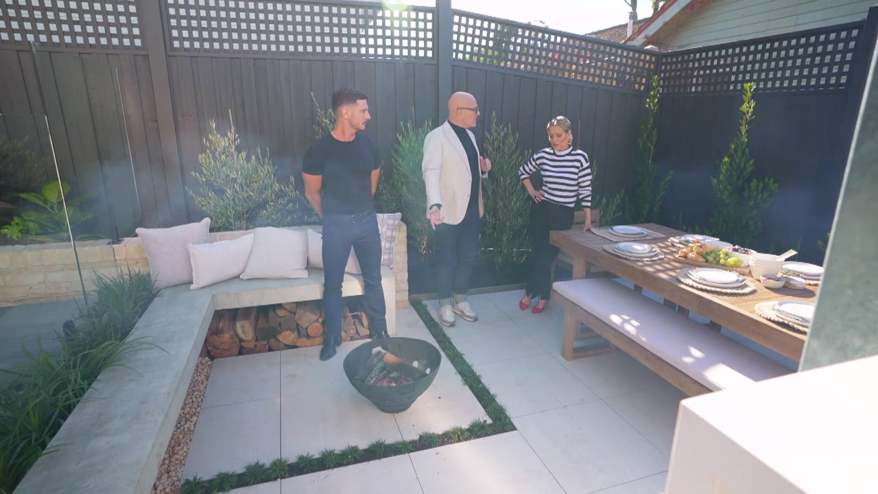Ronnie and Georgia's Backyard revealed