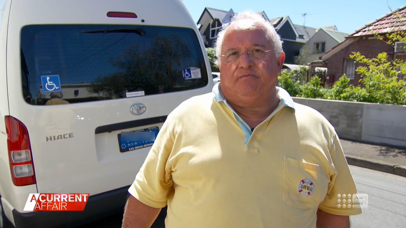 Taxi driver's insurance battle over crash he claims he didn't cause.