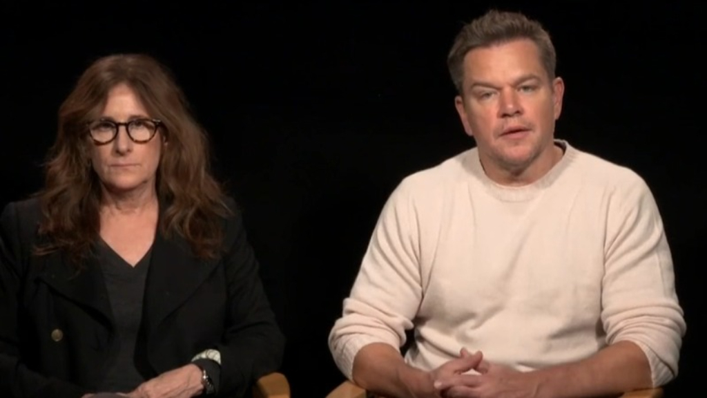 Matt Damon chats with Today about his new medieval thriller 'The Last duel'
