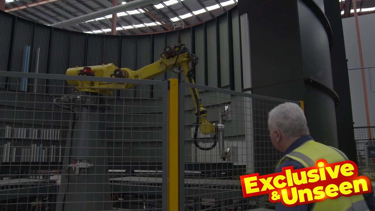 Exclusive: Scott Cam tours the Kinsman factory