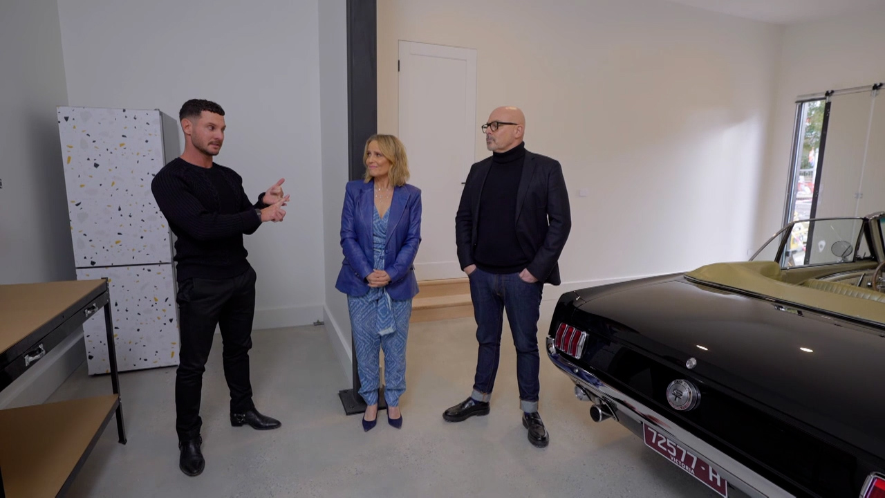 Tanya and Vito's Garage, Study and Wine Cellar revealed