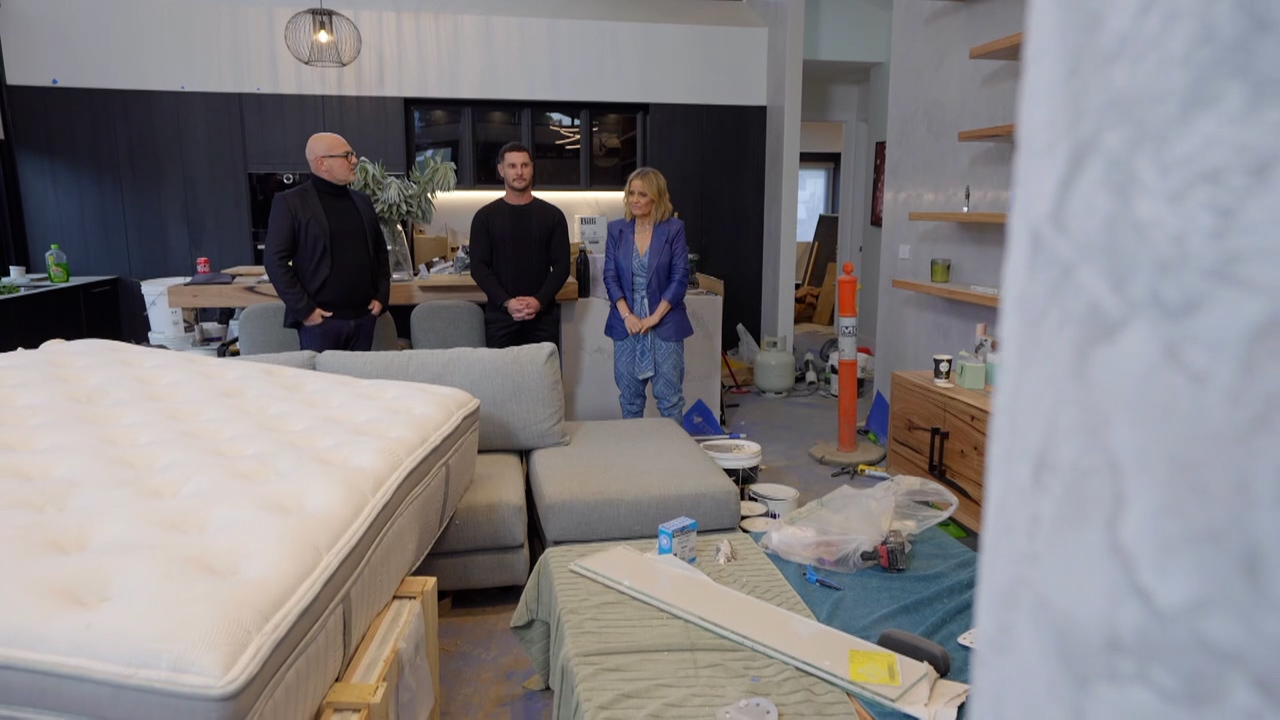 Josh and Luke's Garage, Study and Wine Cellar revealed