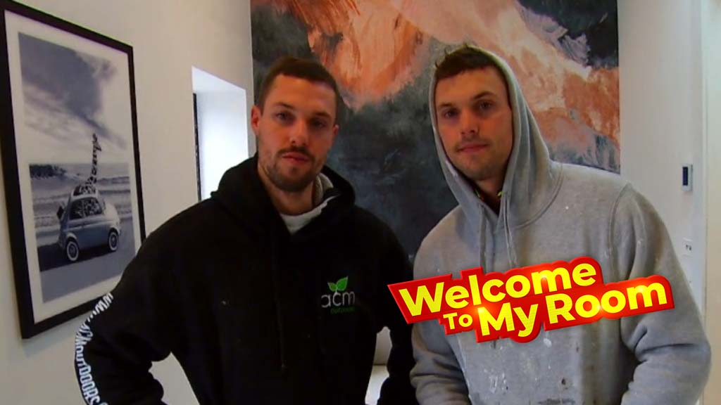 Welcome To My Room: Josh and Luke explain why their fourth bedroom is presented as a study