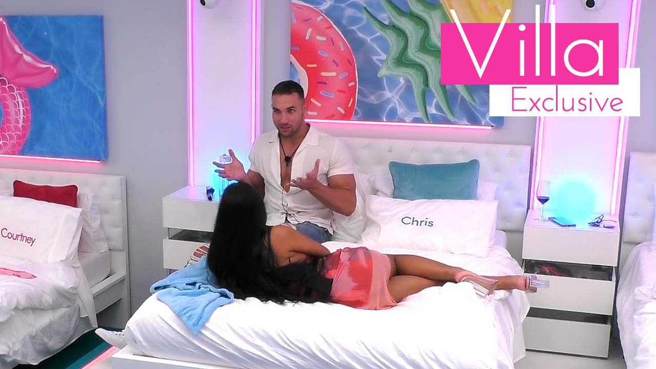 Exclusive: Nicolas and Ari get to know each other in the bedroom